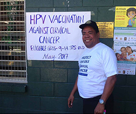 Cervical Cancer Vaccination Project